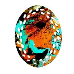Fragrance Of Kenia 2 Ornament (oval Filigree)