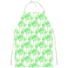 Palm Trees Green Pink Small Print Full Print Aprons