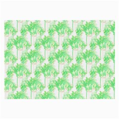 Palm Trees Green Pink Small Print Large Glasses Cloth (2 Side)