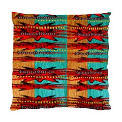 Exotic Blue Green Red And Orange Design Created By Flipstylez Designs Standard Cushion Case (one Side)