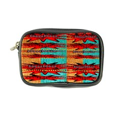 Exotic Blue Green Red And Orange Design Created By Flipstylez Designs Coin Purse