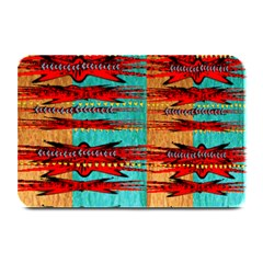Exotic Blue Green Red And Orange Design Created By Flipstylez Designs Plate Mats