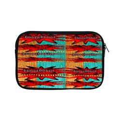 Exotic Blue Green Red And Orange Design Created By Flipstylez Designs Apple Macbook Pro 13  Zipper Case