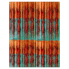 Stretched Exotic Blue Green Red And Orange Design Created By Flipstylez Designs Drawstring Bag (large)
