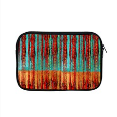 Stretched Exotic Blue Green Red And Orange Design Created By Flipstylez Designs Apple Macbook Pro 15  Zipper Case by flipstylezdes
