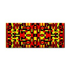 Red Black Yellow 1 Hand Towel