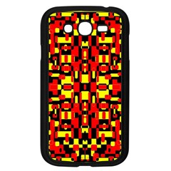 Red Black Yellow 1 Samsung Galaxy Grand Duos I9082 Case (black)