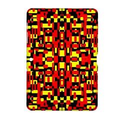 Red Black Yellow 1 Samsung Galaxy Tab 2 (10 1 ) P5100 Hardshell Case