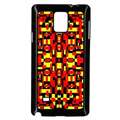 Red Black Yellow 1 Samsung Galaxy Note 4 Case (black)