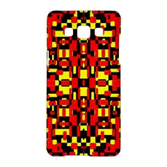 Red Black Yellow 1 Samsung Galaxy A5 Hardshell Case