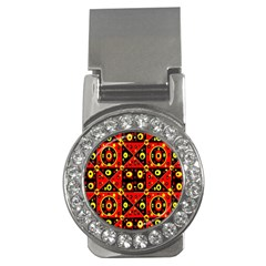 Red Black Yellow 2 Money Clips (cz)