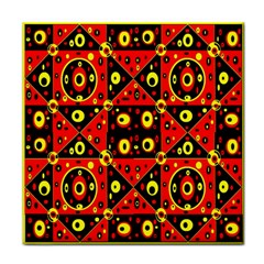 Red Black Yellow 2 Face Towel