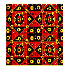 Red Black Yellow 2 Shower Curtain 66  X 72  (large)