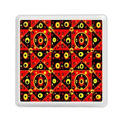 Red Black Yellow 2 Memory Card Reader (square)