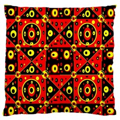 Red Black Yellow 2 Standard Flano Cushion Case (one Side)