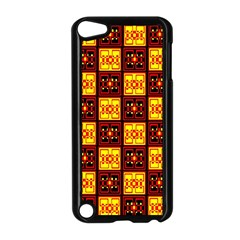 Red Black Yellow 3 Apple Ipod Touch 5 Case (black)