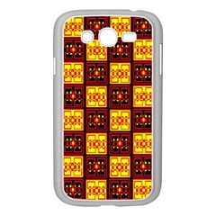 Red Black Yellow 3 Samsung Galaxy Grand Duos I9082 Case (white)
