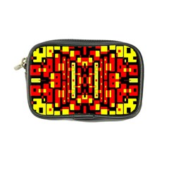 Red Black Yellow 4 Coin Purse
