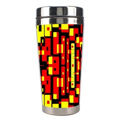 Red Black Yellow 4 Stainless Steel Travel Tumblers