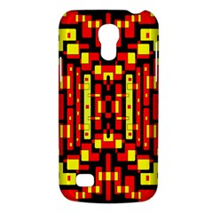 Red Black Yellow 4 Samsung Galaxy S4 Mini (gt I9190) Hardshell Case