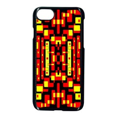Red Black Yellow 4 Apple Iphone 8 Seamless Case (black)
