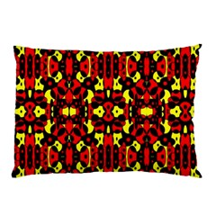 Red Black Yellow 5 Pillow Case