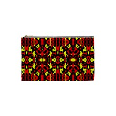 Red Black Yellow 5 Cosmetic Bag (small)