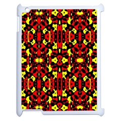 Red Black Yellow 5 Apple Ipad 2 Case (white)