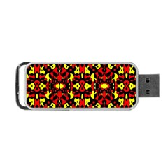 Red Black Yellow 5 Portable Usb Flash (two Sides)
