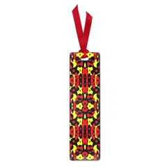 Red Black Yellow 5 Small Book Marks
