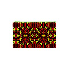 Red Black Yellow 5 Cosmetic Bag (xs)