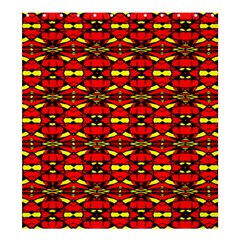 Red Black Yellow 6 Shower Curtain 66  X 72  (large)