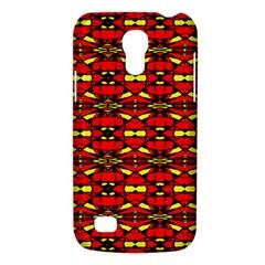 Red Black Yellow 6 Samsung Galaxy S4 Mini (gt I9190) Hardshell Case