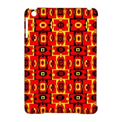 Red Black Yellow 7 Apple Ipad Mini Hardshell Case (compatible With Smart Cover)