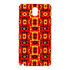 Red Black Yellow 7 Samsung Galaxy Note 3 N9005 Hardshell Back Case