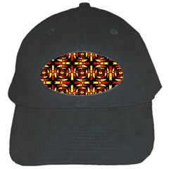 Red Black Yellow 9 Black Cap