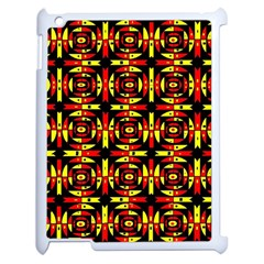 Red Black Yellow 9 Apple Ipad 2 Case (white)
