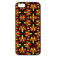 Red Black Yellow 9 Apple Iphone 5 Seamless Case (black)