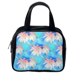 Palm Trees Summer Afternoon Classic Handbags (one Side) by CrypticFragmentsColors