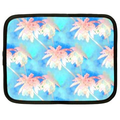 Palm Trees Summer Afternoon Netbook Case (xxl)