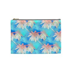 Palm Trees Summer Afternoon Cosmetic Bag (medium)