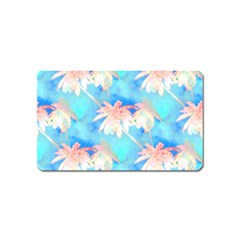 Palm Trees Summer Afternoon Magnet (name Card)