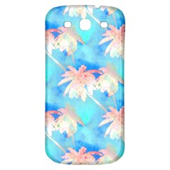 Palm Trees Summer Afternoon Samsung Galaxy S3 S Iii Classic Hardshell Back Case