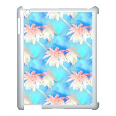 Palm Trees Summer Afternoon Apple Ipad 3/4 Case (white)