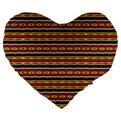 G 5 Large 19  Premium Flano Heart Shape Cushions