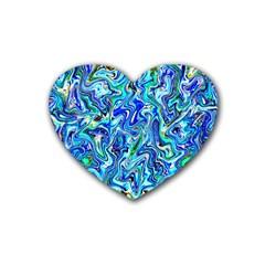 G 7 Rubber Coaster (heart)