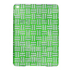 Woven1 White Marble & Green Watercolor Ipad Air 2 Hardshell Cases