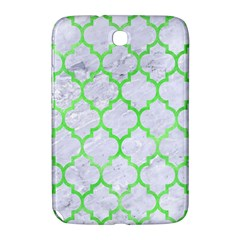 Tile1 (r) White Marble & Green Watercolor Samsung Galaxy Note 8 0 N5100 Hardshell Case
