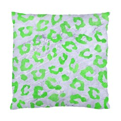 Skin5 White Marble & Green Watercolor Standard Cushion Case (one Side)