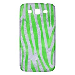 Skin4 White Marble & Green Watercolor Samsung Galaxy Mega 5 8 I9152 Hardshell Case